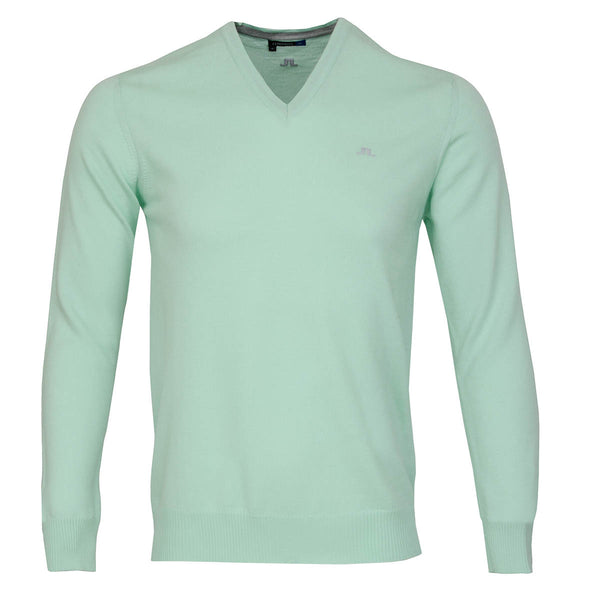 Lymann Tour Merino V-Neck Sweater - Mint