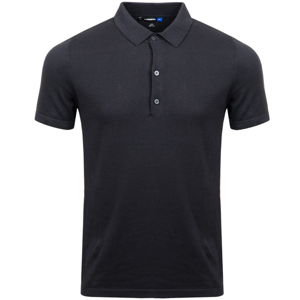 Adam Cotton Polo - Black