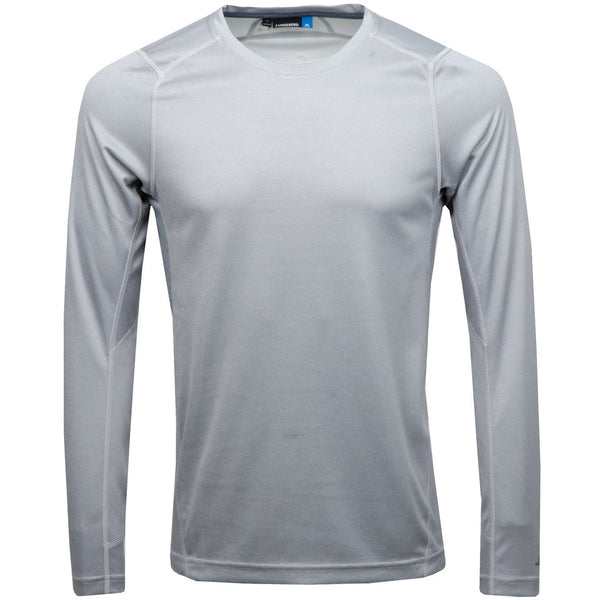 Active LS Tee Elements Jersey - Stone Grey Melange