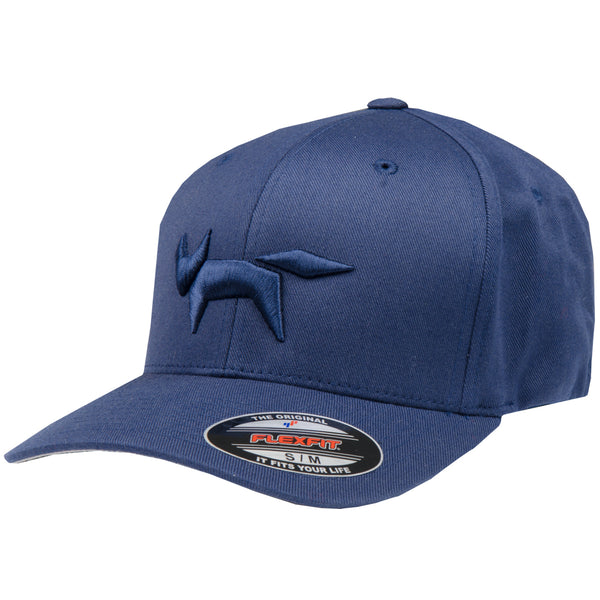 Flex-Fit Fox Logo Cap - Total Eclipse