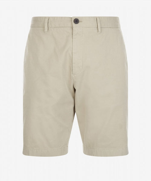 Slim Fit Cotton Chino Short - Fog