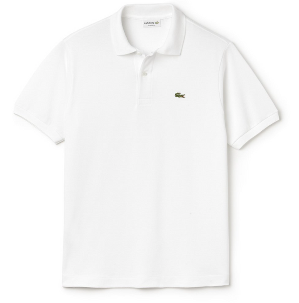 The L1212 Classic Polo - White