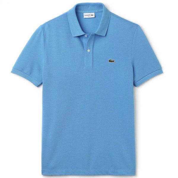 Slim Fit Classic Polo - Spa Blue