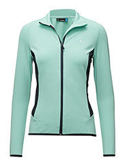 Cecilia Fieldsensor Zip Sweater - Mint