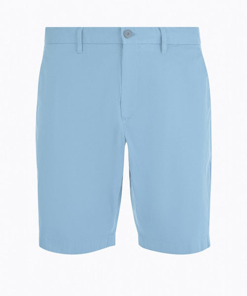 Slim Fit Cotton Chino Short - Marlin Blue