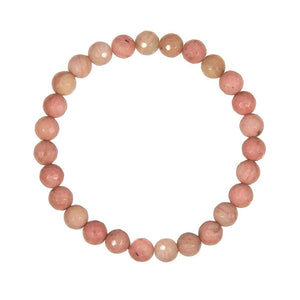 6mm Rhodochrosite (Stone of Compassion)
