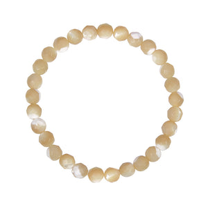 6mm Tan Mother of Pearl (Stone of Harmony)