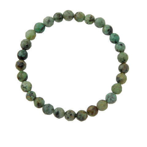 6mm African Turquoise (Stone of Change)