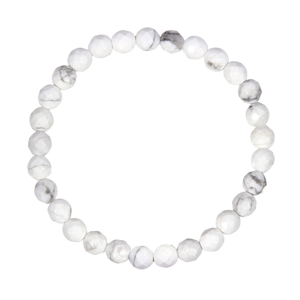 6mm Howlite (Stone of Calming)
