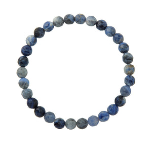 6mm Sodalite (Stone of Logic)