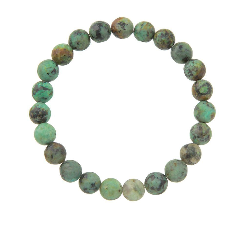 8mm African Turquoise (Stone of Change)