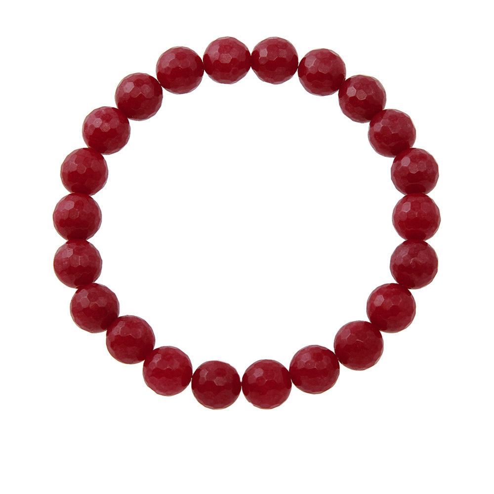 8mm Ruby Jade