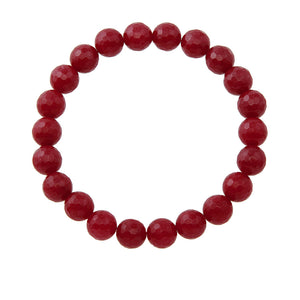 8mm Ruby Jade (Stone of Luck)