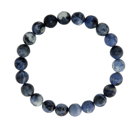 8mm Sodalite (Stone of Logic)