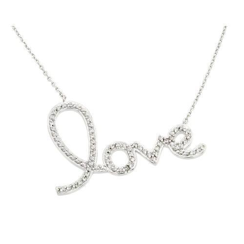 Large Love Necklace