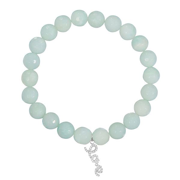 <b>Customize</b> - 8mm Amazonite <br><b>Stone of Truth</b>