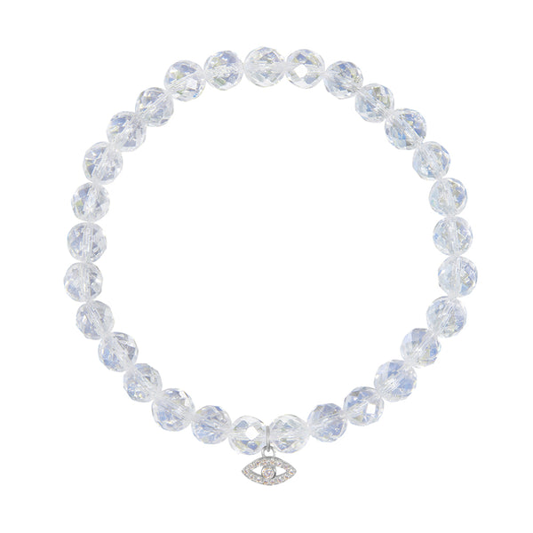 <b>Customize</b> - 6mm Crystal Quartz <br><b>Stone of Positive Energy</b>
