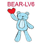 Valentine Teddy Bear 6