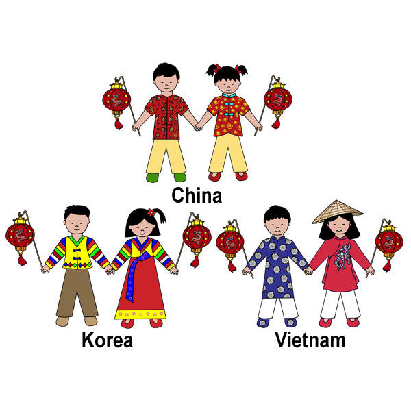 Chinese New Year Party Invitation (Vietnamese U0026 Korean Also Available) U2013  Mandys Moon Personalized Gifts