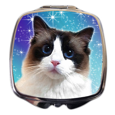 Ragdoll Cat Compact Mirror