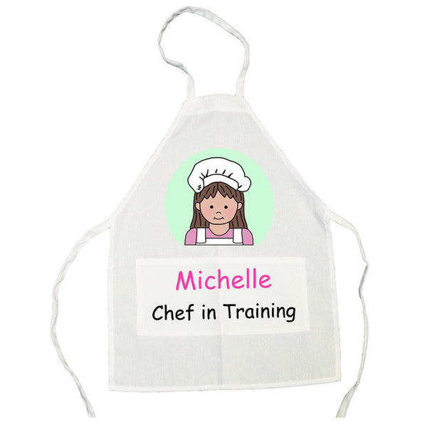 Personalized Apron for Kids