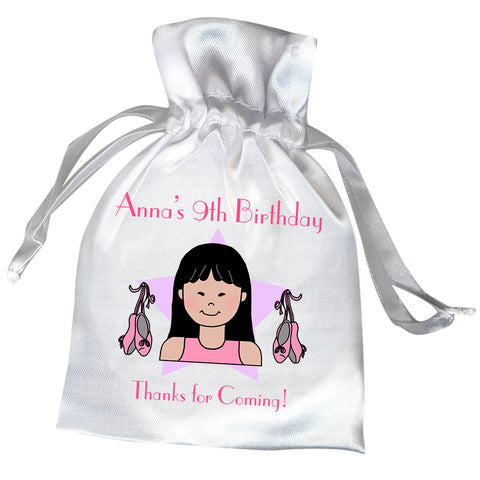 Ballet or Dance Kid Personalized Party Favor Bag
