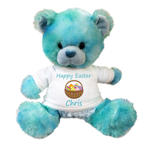 Personalized Blueberrydrop Easter Teddy Bear