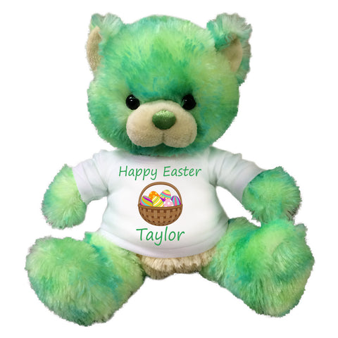 Personalized Limedrop Green Easter Teddy Bear