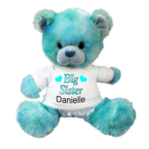 "Big Sister Teddy Bear -  10"" Blueberrydrop Bear"