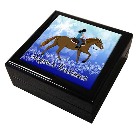 Horse Dreams Personalized Keepsake Box