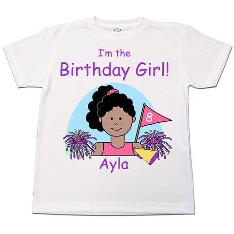 Cheerleading Kid Birthday T Shirt