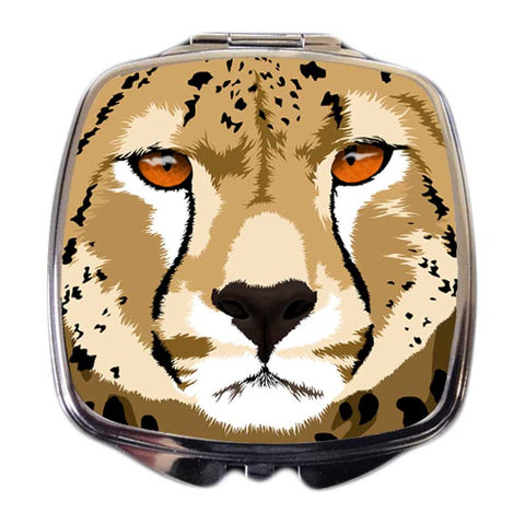 Cheetah Compact Mirror - Duma the Cheetah