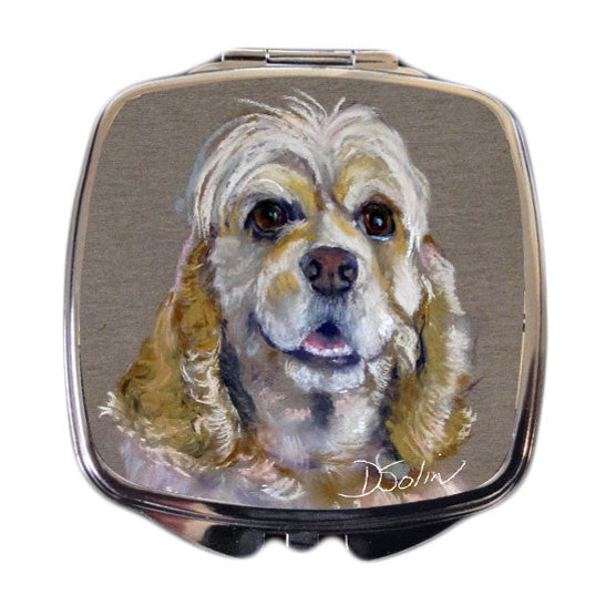 Cocker Spaniel Dog Compact Mirror