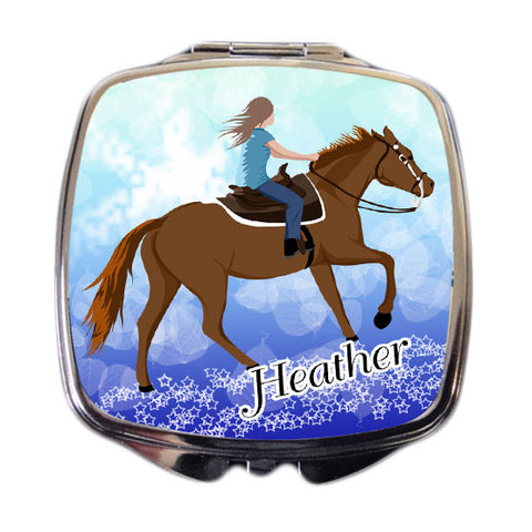 Horse Dreams Compact Mirror