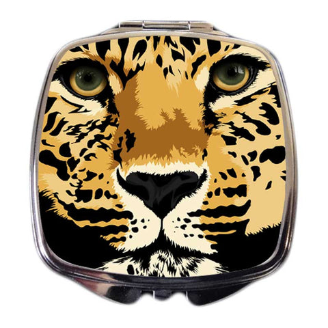 Leopard Compact Mirror - Chui the Leopard