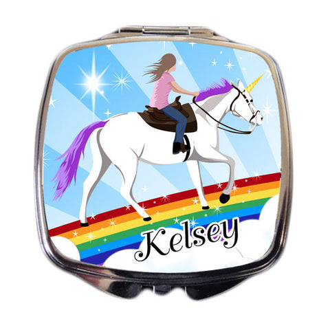 Unicorn Dreams Compact Mirror