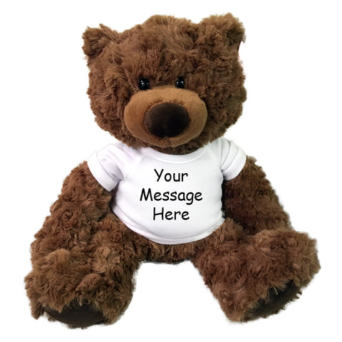 "Personalized Teddy Bear - 13"" Coco Bear"