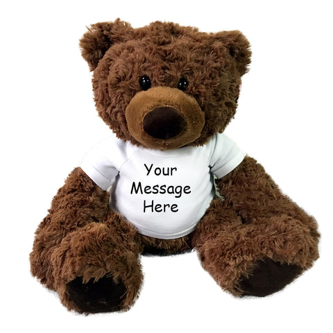"Personalized Teddy Bear - 15"" Coco Bear"
