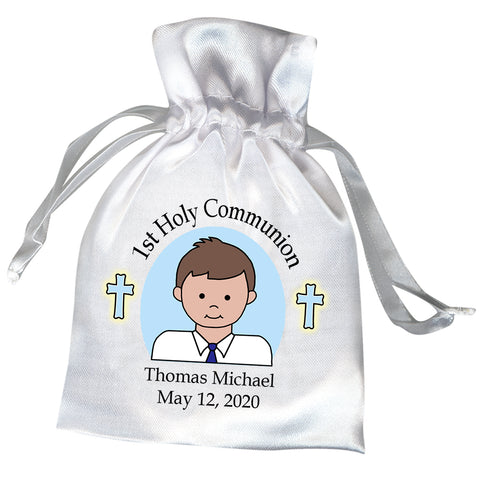 First Communion Favor Bag - Boy