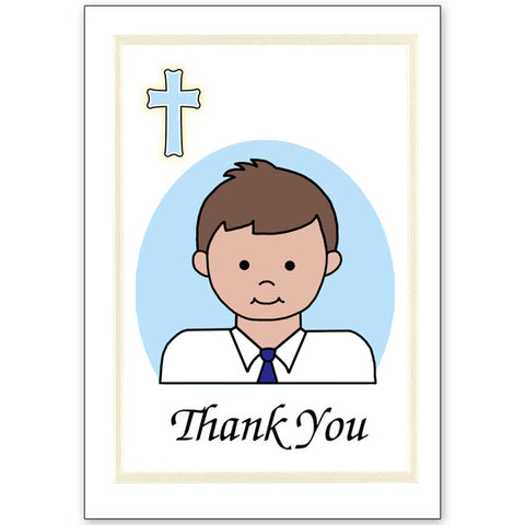 First Communion Thank You Notes For Boys
