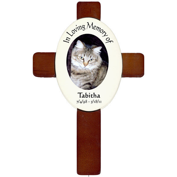 Photo Pet Memorial Cross