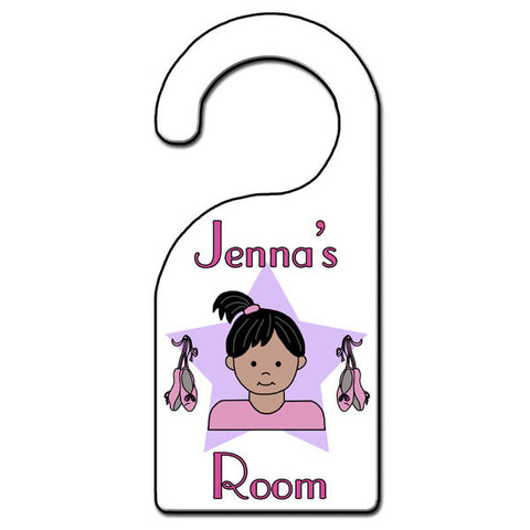 Ballet or Dance Kid Door Hanger