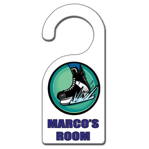 Hockey Skate Door Hanger