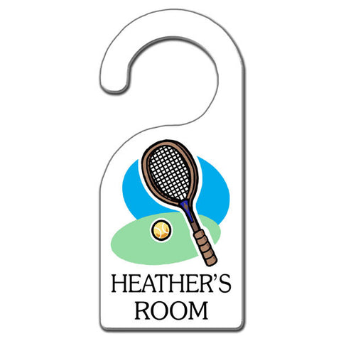 Tennis Racket Door Hanger