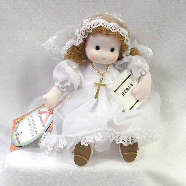 Green Tree First Communion Musical Doll - Mary