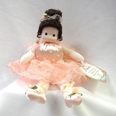 Green Tree Musical Ballerina Doll - Kelly