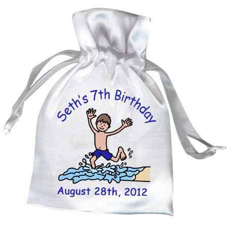Beach Party Favor Bag - Boy