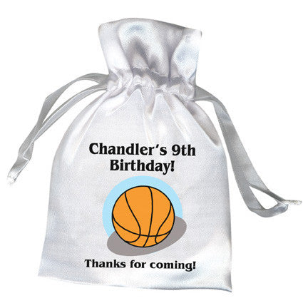 Basketball Party Favor Bag