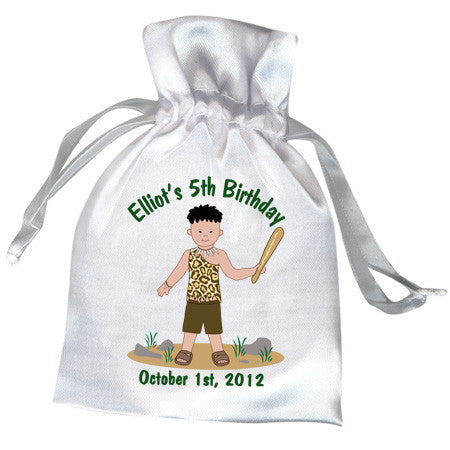 Cave Boy Party Favor Bag