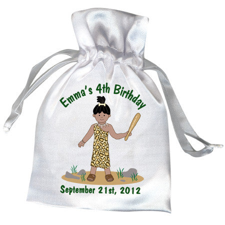 Cave Girl Party Favor Bag